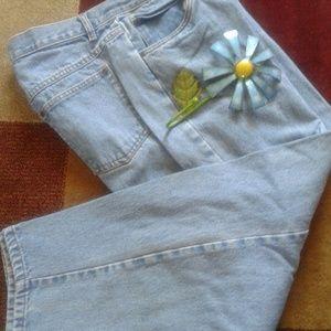 Sigrid Olsen Petite blue jean